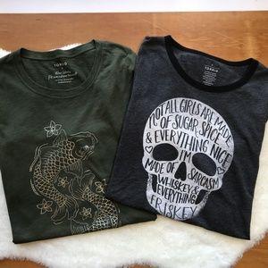 TORRID graphic Tee shirts size 0